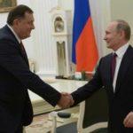Додик: Путин дал свою поддержку стабилизации в регионе и Дейтонским соглашением