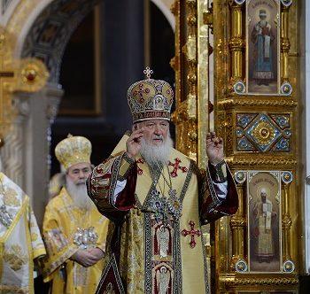 Патриарх Ириней: русский и сербский народы объединяет вера и кровь, которую они вместе проливали
