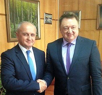 Министри Ђокић и Малешевић са ректором Нижегородског универзитета