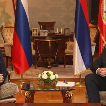 Додик Матвијенковој: Наша сарадња са ЕУ не може бити на уштрб сарадње са Русијом