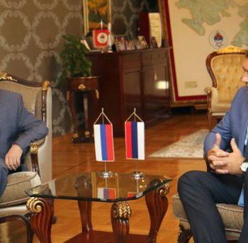 Додик, Иванцов: Стабилна ситуација у Српској