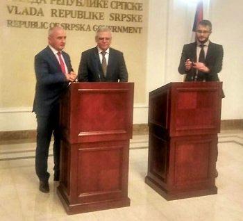 Состоялись переговоры Евгения Люлина в Баня-Луке