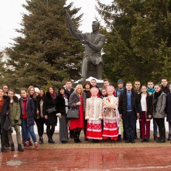 У фебруару је српска омладинска делегација из Гимназије Бора Станковић (град Врање) посетила Белгород