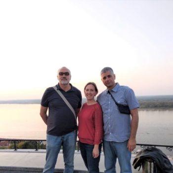 Состоялась встреча редакции нашего сайта с гостями из Нови-Сада и Белгорода