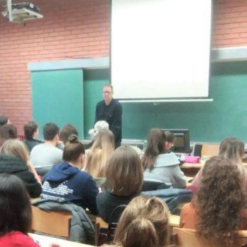 Российский профессор прочитал публичные лекции в Республике Сербской