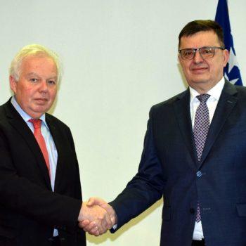 O sastanku Ambasadora Rusije u Bosni i Hercegovini Petra Ivantsova sa Predsjedavajućim Vijeća ministara Bosne i Hercegovine Zoranom Tegeltijom