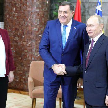 Милорад Додик написао писмо захвале Путину