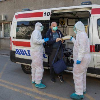 Как Русская гуманитарная миссия помогает в борьбе с коронавирусом в Сербии