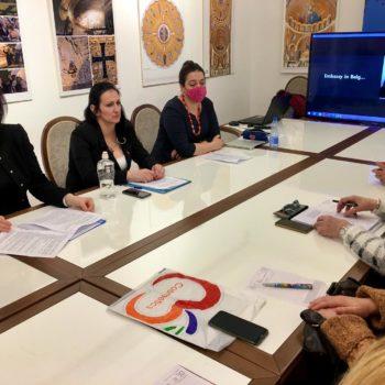 Состоялась встреча Союза сербско-русского социального диалога КОС