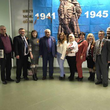 В Воронеже прошла встреча школьников и студентов с ветеранами ВОВ и локальных войн