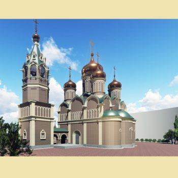 Об освящении фундамента российско-сербского храма в Баня-Луке