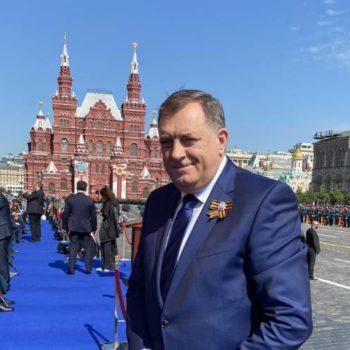 Милорад Додик принял участие в Параде Победы на Красной площади